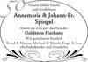 Annemarie Johann-Fr. Spingel