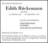 Edith Rückemann