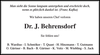 Dr. J. Behrensdorf