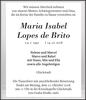 Maria Isabel Lopes de Brito