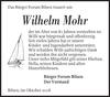 Wilhelm Mohr