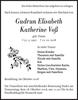 Gudrun Elisabeth Katherine Voß