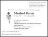 Manfred Kaven