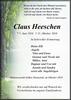 Claus Heeschen