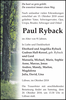 Paul Ryback