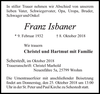 Franz Isbaner