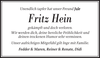 Fritz Hein