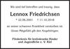 Lennox Friedrichsen