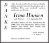 Irma Hansen