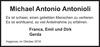 Michael Antonio Antonioli
