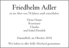 Friedhelm Adler