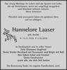 Hannelore Laaser