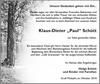 Klaus-Dieter Paul Schütt