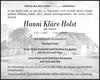 Hanni Kläre Holst