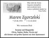 Maren Zgorzelski