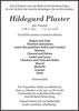 Hildegard Plaster