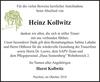 Heinz Kollwitz