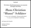 Hans Christian Hansi Schlüter