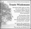 Traute Wiedemann