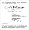 Gisela Vollmann