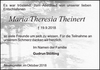 Maria Theresia Theinert