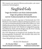 Siegfried Golz