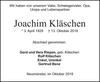 Joachim Kläschen