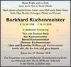 Burkhard Küchenmeister