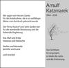 Arnulf Katzmarek