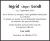 Ingrid Lendt
