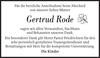 Gertrud Rode