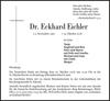 Dr. Eckhard Eichler