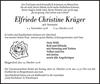 Elfriede Christine Krüger