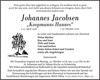 Johannes Jacobsen
