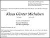 Klaus Günter Michelsen