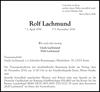 Rolf Lachmund