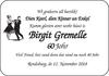Birgit Gremelle