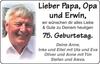 Papa Opa und Erwin