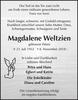 Magdalene Weltzien