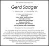 Gerd Saager