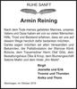 Armin Reining