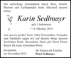 Karin Sedlmayr