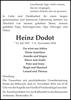 Heinz Dodot