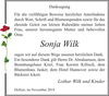 Sonja Wilk