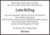 Luise Belling