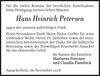 Hans Heinrich Petersen