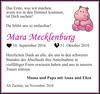 Mara Mecklenburg