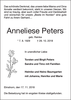 Anneliese Peters
