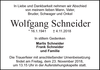 Wolfgang Schneider