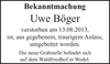Uwe Böger